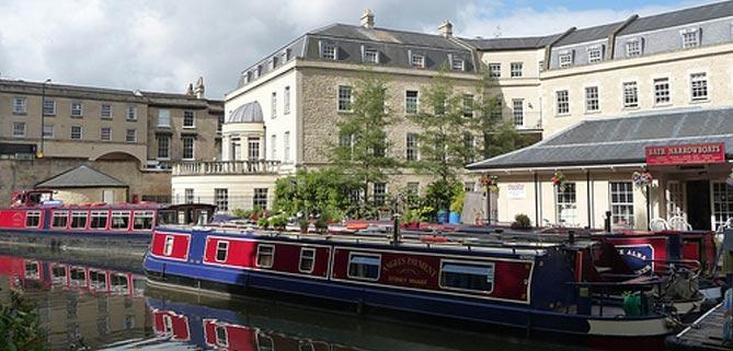 Sydney Wharf Bath Narrow Boats Head Office