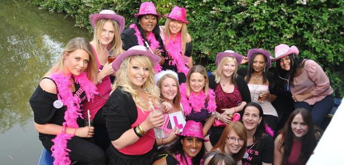 Disco party on John Rennie by Gourmet Delicious for Bath Narrowboats Hen Party