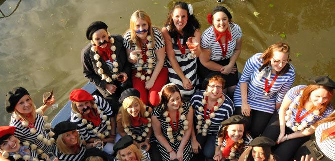 Pirate Hen Party for Bath Narrowboats John Rennie restaurant boat