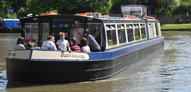 John Rennie by Gourmet Delicious for Bath Narrowboats Red Double Decker