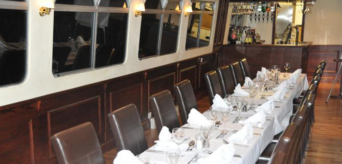 Interior of John Rennie by Gourmet Delicious for Bath Narrowboats