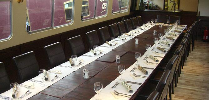 Table Layout Bath Narrowboats