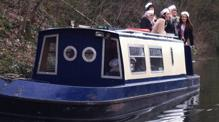 Lady Victoria Dayboat customers of Bath Narrowboats Hen Party