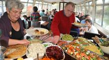 Buffet on John Rennie by Gourmet Delicious for Bath Narrowboats