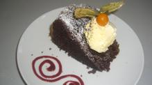 Cake desserts on John Rennie by Gourmet Delicious for Bath Narrowboats