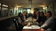 Dinner on John Rennie by Gourmet Delicious for Bath Narrowboats
