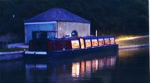Wedding reception on John Rennie by Gourmet Delicious for Bath Narrowboats