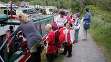 K & A Trust boat Jubilee @ The Angelfish Canal visitor centre Monkton Combe Bath