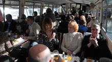 people sat on John Rennie by Gourmet Delicious for Bath Narrowboats